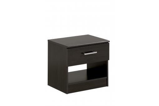 table de chevet marron beat design sur sofactory. Black Bedroom Furniture Sets. Home Design Ideas