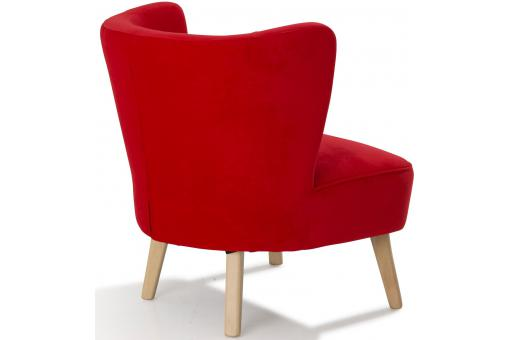 Fauteuil Tissu Rouge So112690-0000