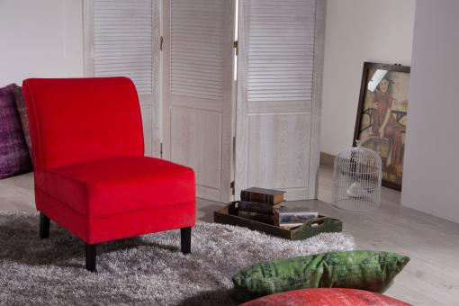 Fauteuil Rouge So112674-0000