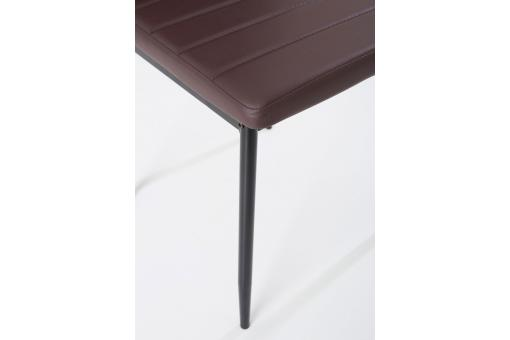 Lot de 4 chaises marron SAMO So113154-0000