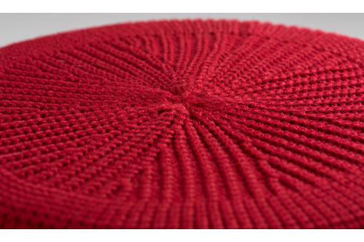 Lot de 4 poufs en pin rouges BUFFALO So113356-0000
