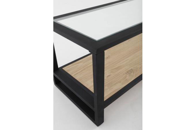 Meuble Tv En Fer Noir Laly Design Sur Sofactory