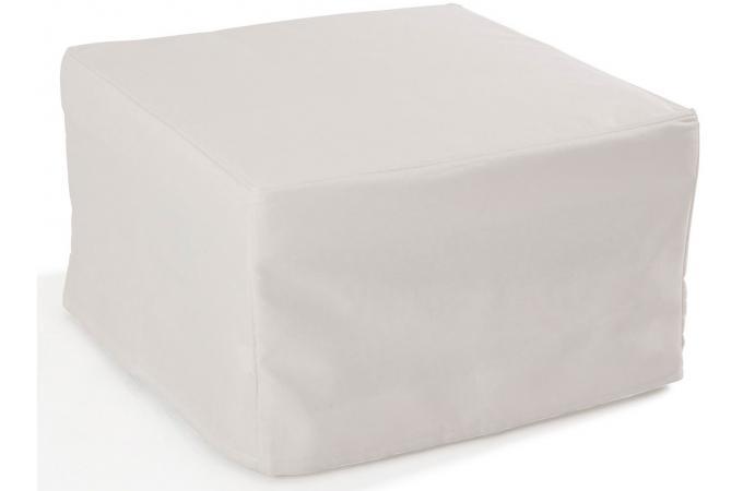 pouf lit en acier ecru otello design sur sofactory. Black Bedroom Furniture Sets. Home Design Ideas