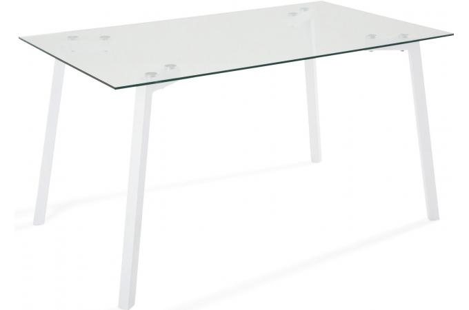 Table en fer blanche GRIMM