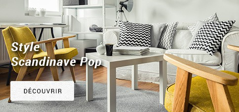 Mobilier Style Scandinave Pop